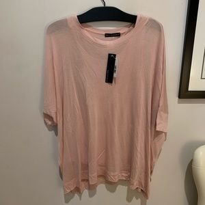 Nally and Millie Tank and Tee Pink Top